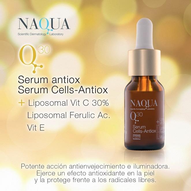 Q30 Serum Cells-Antiox, el complemento perfecto para los tratamientos despigmentantes en cabina